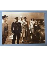 Casablanca Airport Humphrey Bogart Vintage 11X14 Sepia Movie Memorabilia... - $9.95