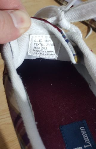 Ralph Lauren Giles Casual Shoes White Tan