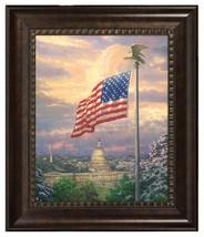 Thomas Kinkade America's Pride 20 x 16 Brushstroke Vignette - $299.00