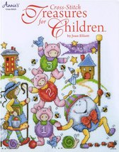 Cross Stitch Treasures For Children 27 designs cross stitch booklet Joan... - $13.50