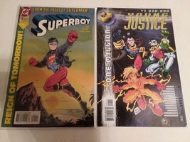 SUPERBOY #1 + YOUNG JUSTICE 1,000,000 - FREE SHIPPING IN U.S. AND CANADA! - $14.03