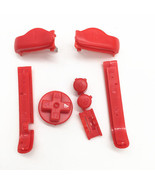 Nintendo Game Boy Advance BUTTONS SET Bumpers R L A B D-Pad RED (Lot of 5) - $15.31
