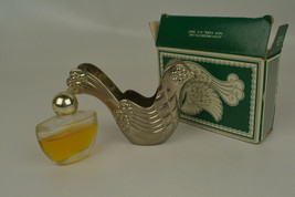 AVON Silver Dove Christmas Ornament Approximately 3/4 Full - $9.89