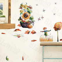 Leafy season - Wall Decals Stickers Appliques Home Decor - $6.49