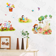 Leisure Time-1 - Wall Decals Stickers Appliques Home Decor - $6.49