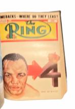 Vtg The Ring Magazine World's Official Boxing Bound Volume Feb 1950 - Jan 1951 image 4