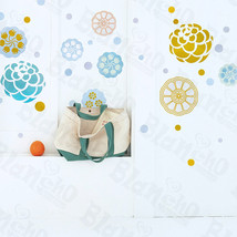 Paint Petals - Wall Decals Stickers Appliques Home Decor - $6.49