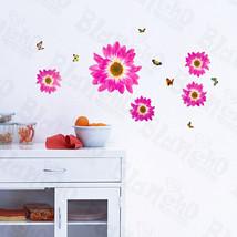 Delightful Petals - Wall Decals Stickers Appliques Home Decor - $6.49