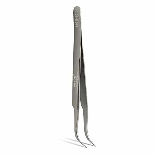 Curved Tweezers For Eyelash Extensions Vetus MCS-15