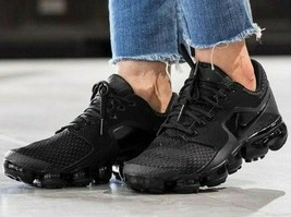 "NEW NIKE AIR VAPORMAX wmn US sz's: 7 (24cm); 8 (25cm) ""TRIPLE BLACK""  AH... - $169.99"