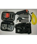 GoPro HERO3 CHDHX-301 Silver Waterproof Action Camera with Accessories - $192.54
