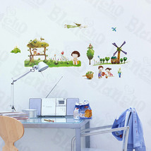 Village 2 - Wall Decals Stickers Appliques Home Decor - $6.49