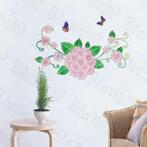 Pink Petals - Wall Decals Stickers Appliques Home Decor - $6.49