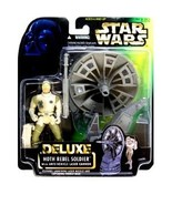 Star Wars Deluxe Hoth Rebel Soldier action figure (green card) - $9.99