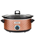 Brentwood Select SC-157C Slow Cooker, 7 Quart, Copper - $80.23