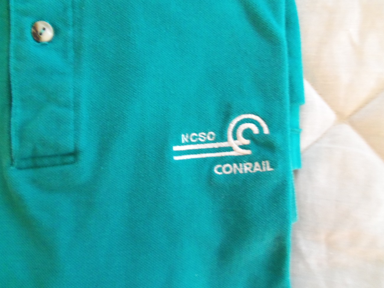 Men's Clothing, shoes and accessories - Conrail Railroad logo Polo Shirt