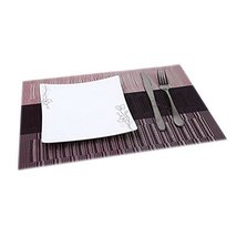 "Set of 4 New Durable PVC Place Mats 17.7"" x 11.8""-Four Matching Placemat... - £16.20 GBP"