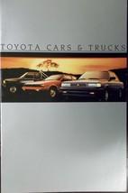 1985 Toyota Cars and Trucks Full Line Brochure - $9.00