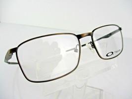 NEW Oakley Wingfold OX 5100-0452 Satin TITANIUM Toast 52 X16 139 Eyeglass Frames - $71.23