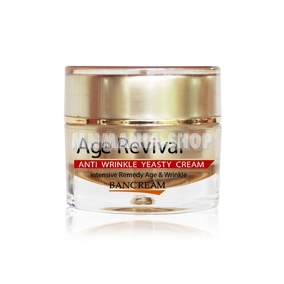 Bancream Herbal : Age Revival: Anti Wrinkle Yeasty Cream