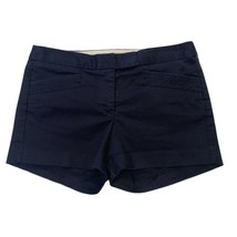 J.Crew City Fit Womens Navy Blue Casual Shorts Sz 2 - $12.87