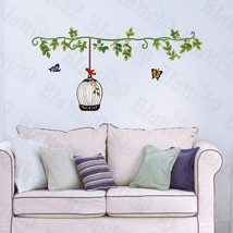 Sping Comes - Hemu Wall Decals Stickers Appliques Home Decor 12.6 BY 23.... - $6.49