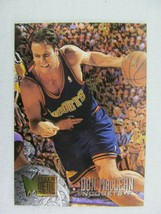 Don MacLean Denver Nuggets 1996 Fleer Basketball Card Number 142 Metal - $0.98