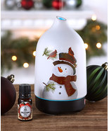 Christmas Winter Snowman Holiday Diffuser with Fragrance Oil - $36.99