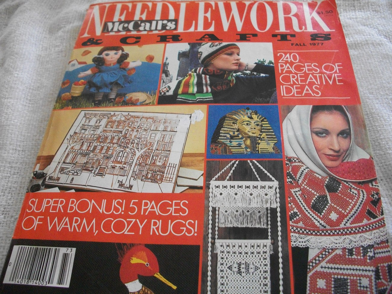 8 McCall's Needlework and Crafts Fall Winter Spring Summer 63 64 67 68 69 70 71 73