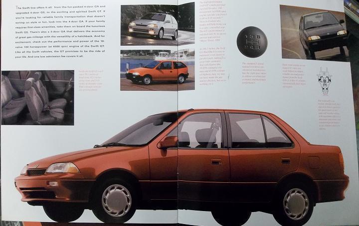 1991 Suzuki Cars & Trucks Full Line Brochure
