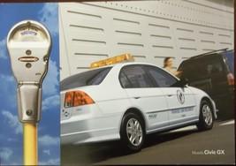 2004 Honda Givic GX Natural Gas Fueled Brochure - $8.00