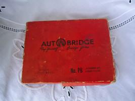 Vintage 1957 Autobridge Auto Bridge Game Deluxe Pocket Model PB w/ Guide - $10.40
