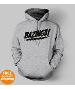 Bazinga black logo Hoodie Big Bang Theory show ... - $29.85 - $32.85