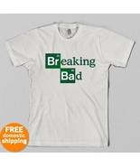 Breaking Bad logo T-shirt AMC Tv Show Heisenber... - $14.95