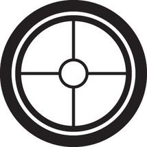 Hunting Decal #Ht1/5 Cross Hairs  Vinyl Graphic Gun Rifle Duck Geese Deer Car - $10.50