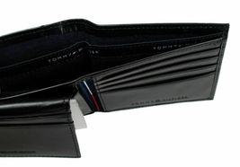 Tommy Hilfiger Men's Leather Credit Card Wallet Billfold Black 5675-01 image 8