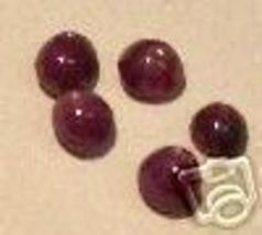 5 NATURAL EARTH MINED GENUINE RUBY STARS FREE - $0.00