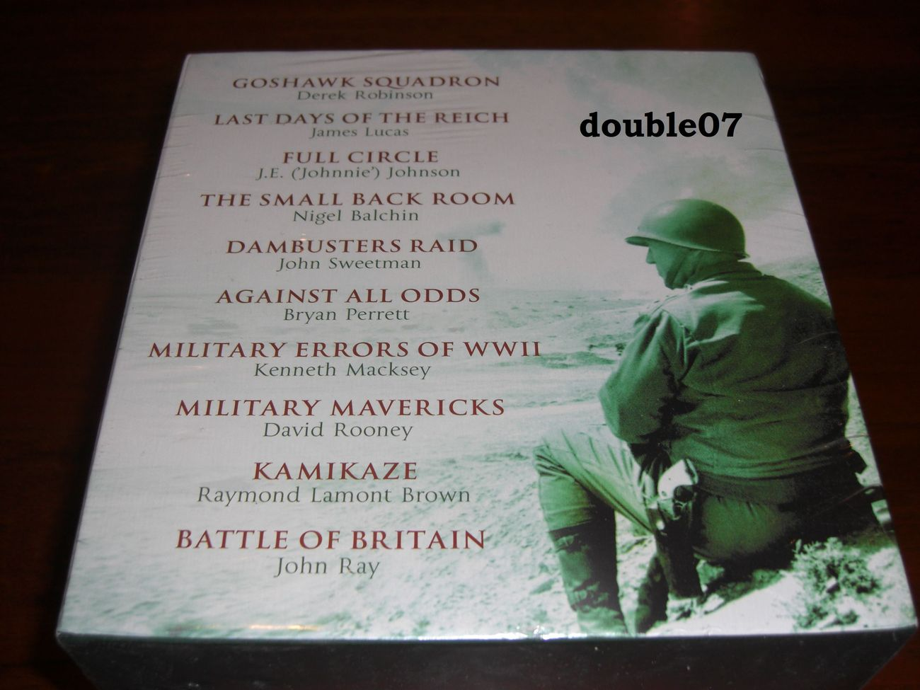 The Military Classics Collection 10 books new in shrink wrap