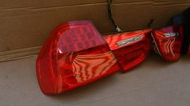 09-11 BMW E90 4dr Sedan Taillight lamps Set LED 328i 335i 335d 328 335 320i image 5