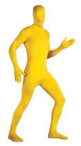 ZENTAI SUIT COSTUME ADULT 2nd SKIN SUIT SPANDEX BODYSUIT HALLOWEEN YELLO... - $20.19+