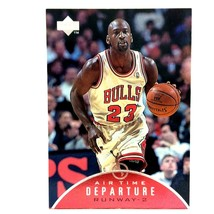 Michael Jordan 1997-98 Upper Deck Air Time #AT5 Insert Chicago Bulls  - $4.90