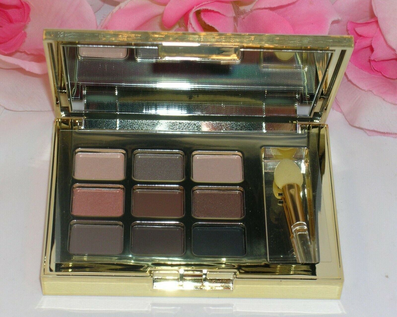 Primary image for New Estee Lauder Pure Color Eye Shadow 9 Shades Satin Shimmer Matte Compact &App