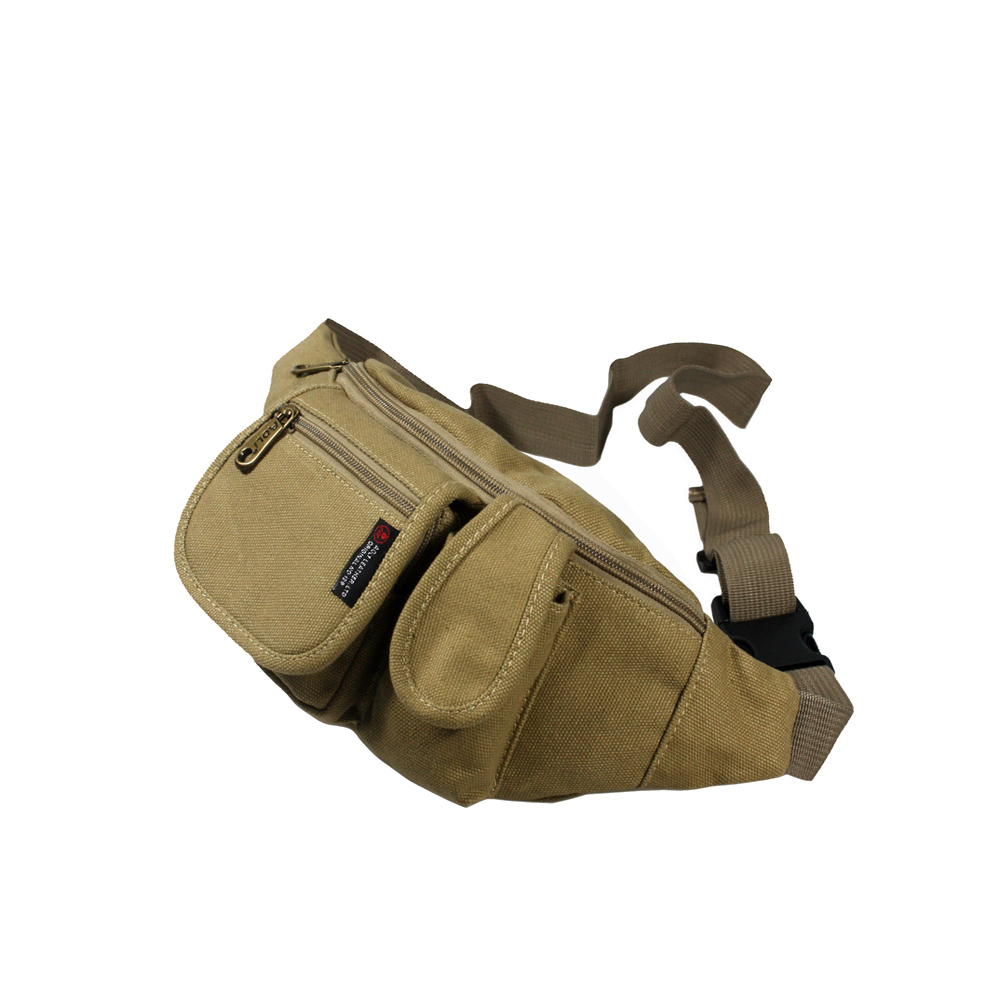 [Portable Canvas] Casual Multi-Purposes Fanny Pack - $20.99