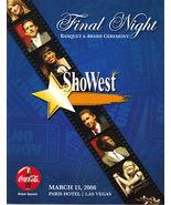 2008 SHOWEST Final Night Awards Program - $9.95