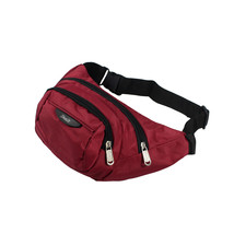 [Multi-Ziper] Crimson Multi-Purposes Fanny Waist Pack - $20.99