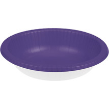 Touch of Color 20 oz Paper Bowl  Purple/Case of 200 - €48,45 EUR