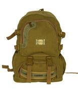 [Own Propert] Multipurpose canvas Outdoor Backpack/Dayback Khaki - $24.99