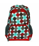 [Colorful Dots] Fashion Multipurpose Backpack Polyester - $23.99