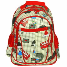 [Go To School] Pre-School Backpack /Snack Backpack - Green - $29.99