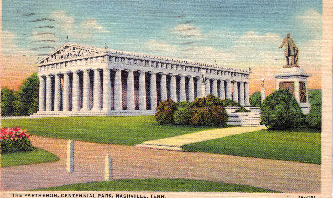 Primary image for THE PARTHENON Nashville Tennesse Old Postcard